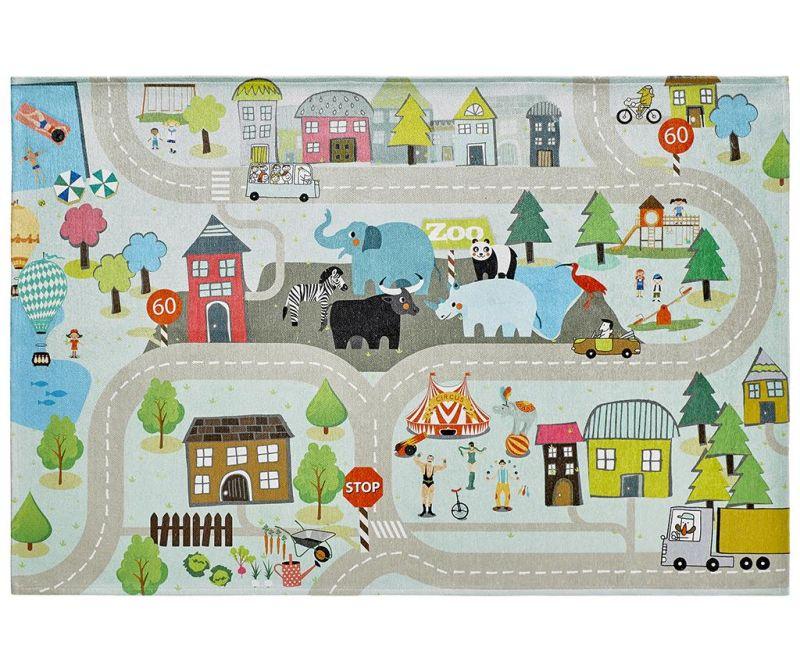 Igralna podloga My Torino Kids Street 120x170 cm