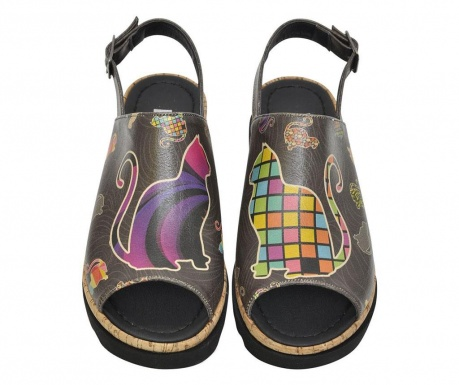 Dámske sandále Kittens High