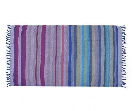 Plážová osuška Fouta Elmas Traditional Blue 100x180 cm