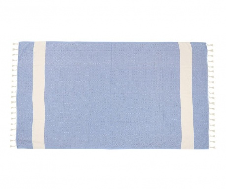 Plážová osuška Elmas Acoustic Blue 100x180 cm