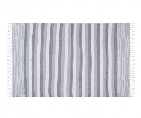 Πετσέτα θαλάσσης Pamukkale Grey 100x180 cm