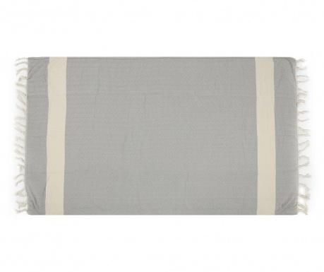 Plážová osuška Fouta Balik Grey 100x180 cm