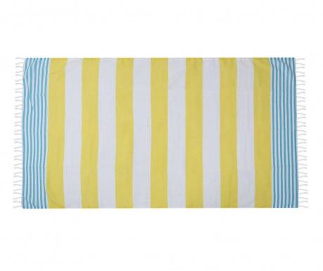 Πετσέτα παραλίας Antalya Yellow 100x180 cm