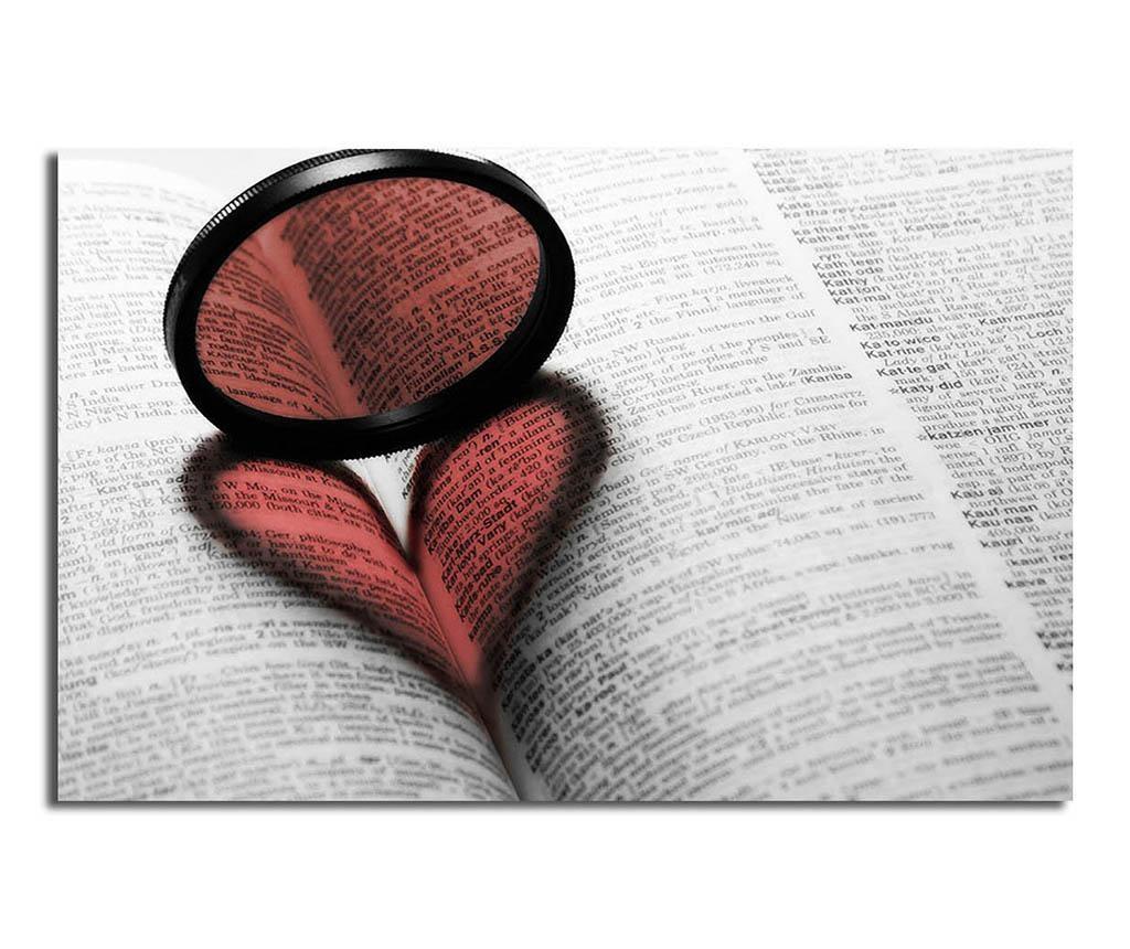 Slika Ring Love 45x70 cm