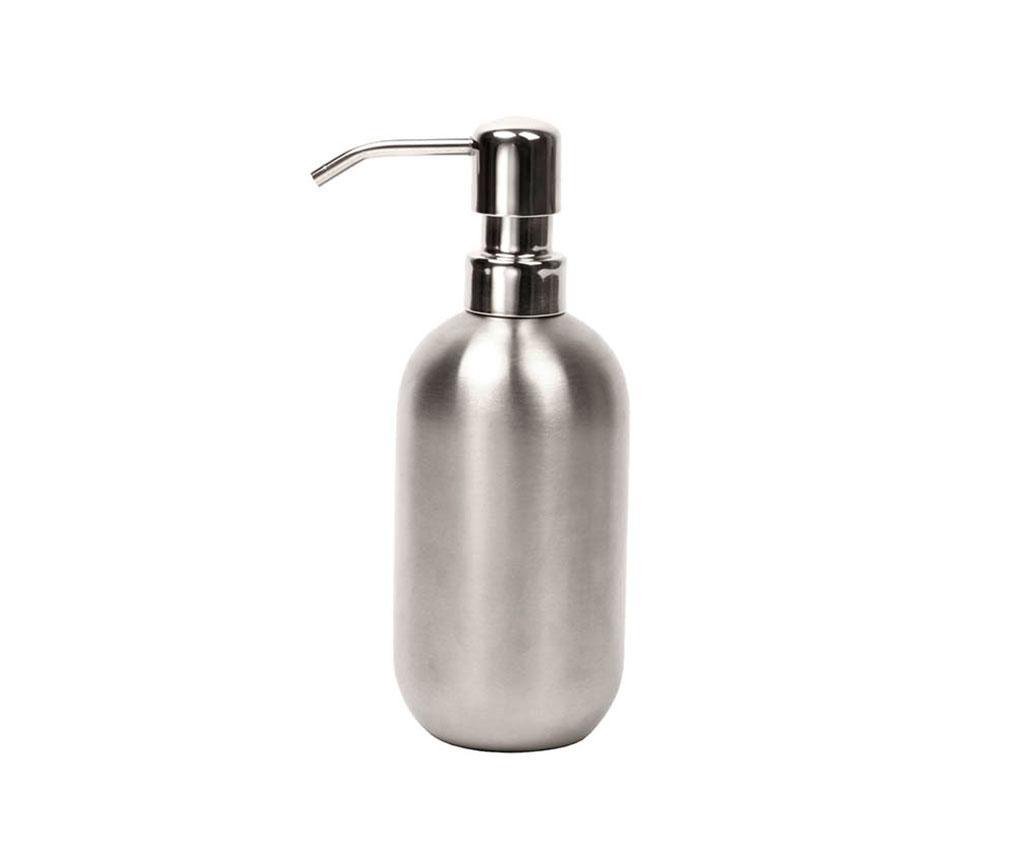 Dispenser sapun lichid Round Steel 200 ml