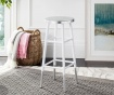 Scaun de bar Mirabelle Tall White