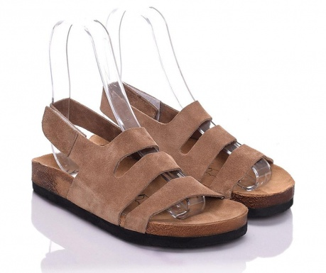 Sandale dama Odele Extra Light Brown 38