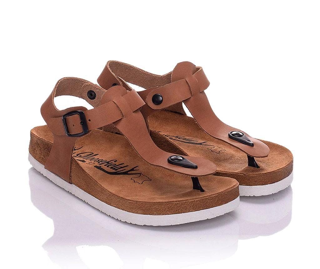 Sandale dama Cecile Light Brown 40