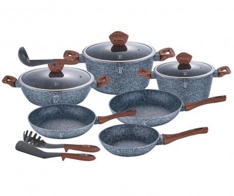 12-delni set posode za kuhanje Forest