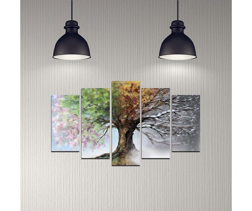 Set 5 slik Seasons Tree