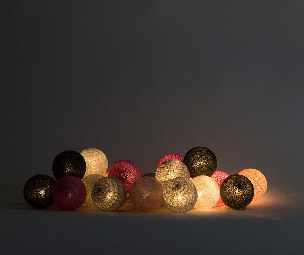 Venkovní světelná girlanda Lubanida Rosa 778 cm
