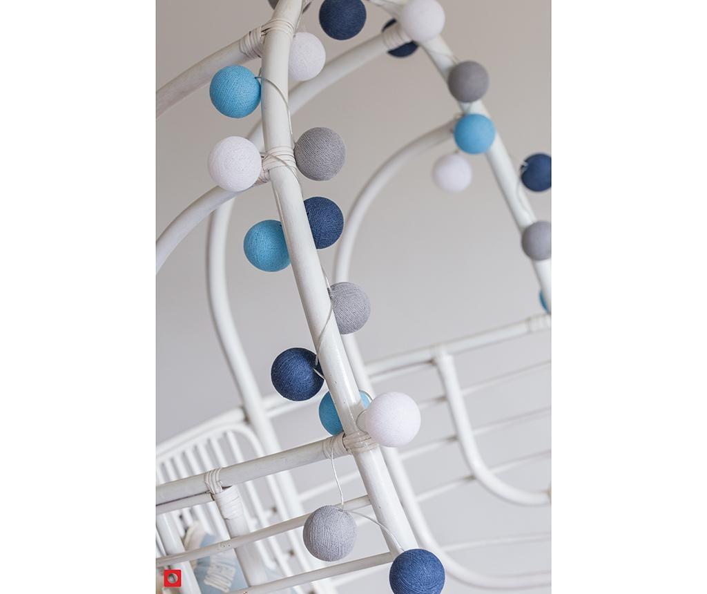 Ghirlanda luminoasa Favorites Sailor Blue 444 cm
