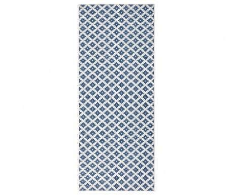 Venkovní koberec Twin Nizza Blue Cream