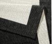 Twin Panama Black Cream Kültéri szőnyeg 200x290 cm