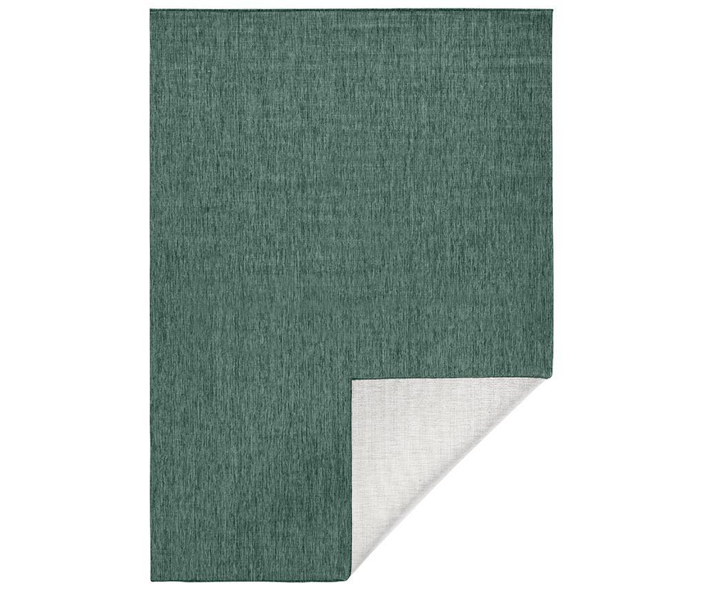 Reverzibilni tepih Twin Miami Green 80x150 cm
