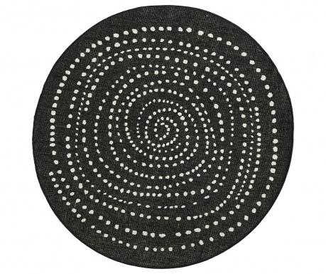 Venkovní koberec Twin Bali Black Cream 200 cm