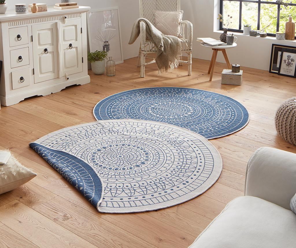 Twin Porto Blue Cream Kültéri szőnyeg 140 cm