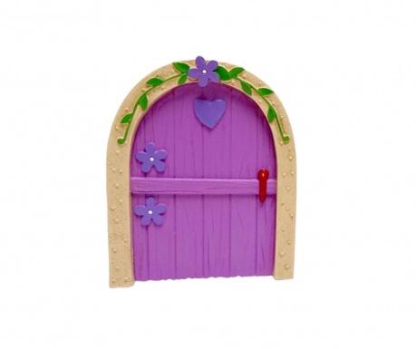 Fairy Door Purple Dísztárgy