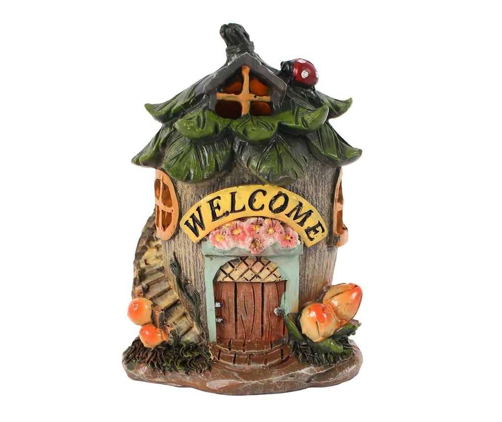 Decoratiune luminoasa Welcome Fairy House
