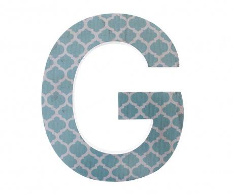 Stenska dekoracija Letter G
