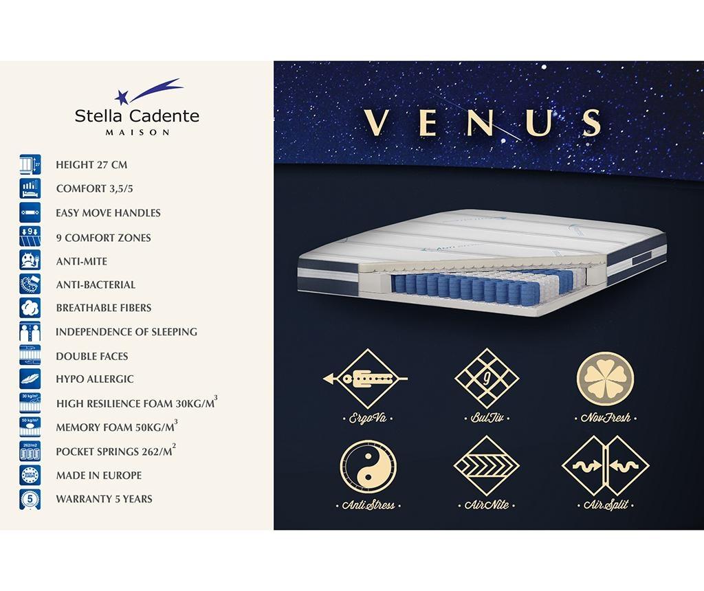 Set krevet i madrac Venus Long 120x190 cm