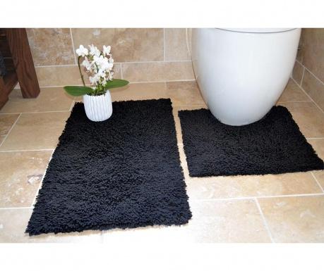 Set 2 kopalniških preprog Ivo Black