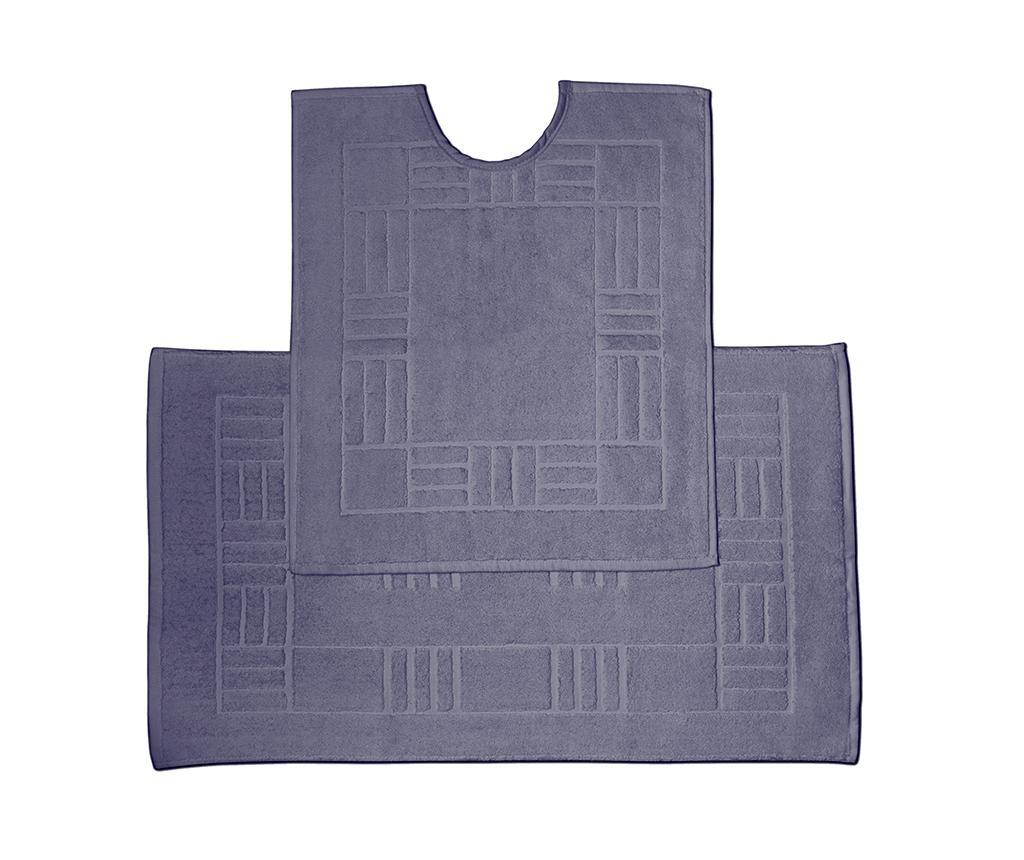 Reversible Verica Denim Fürdőszobai kilépő és szőnyeg