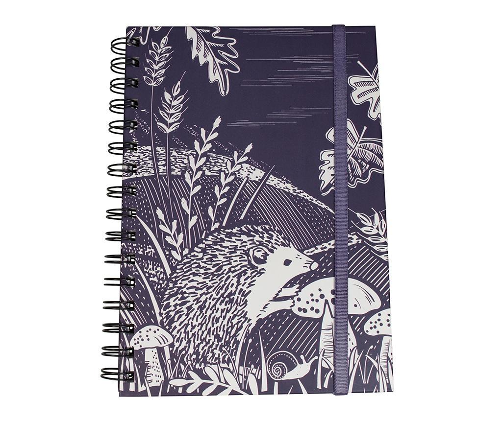 Bilježnica sa spiralom Hedgehog Design