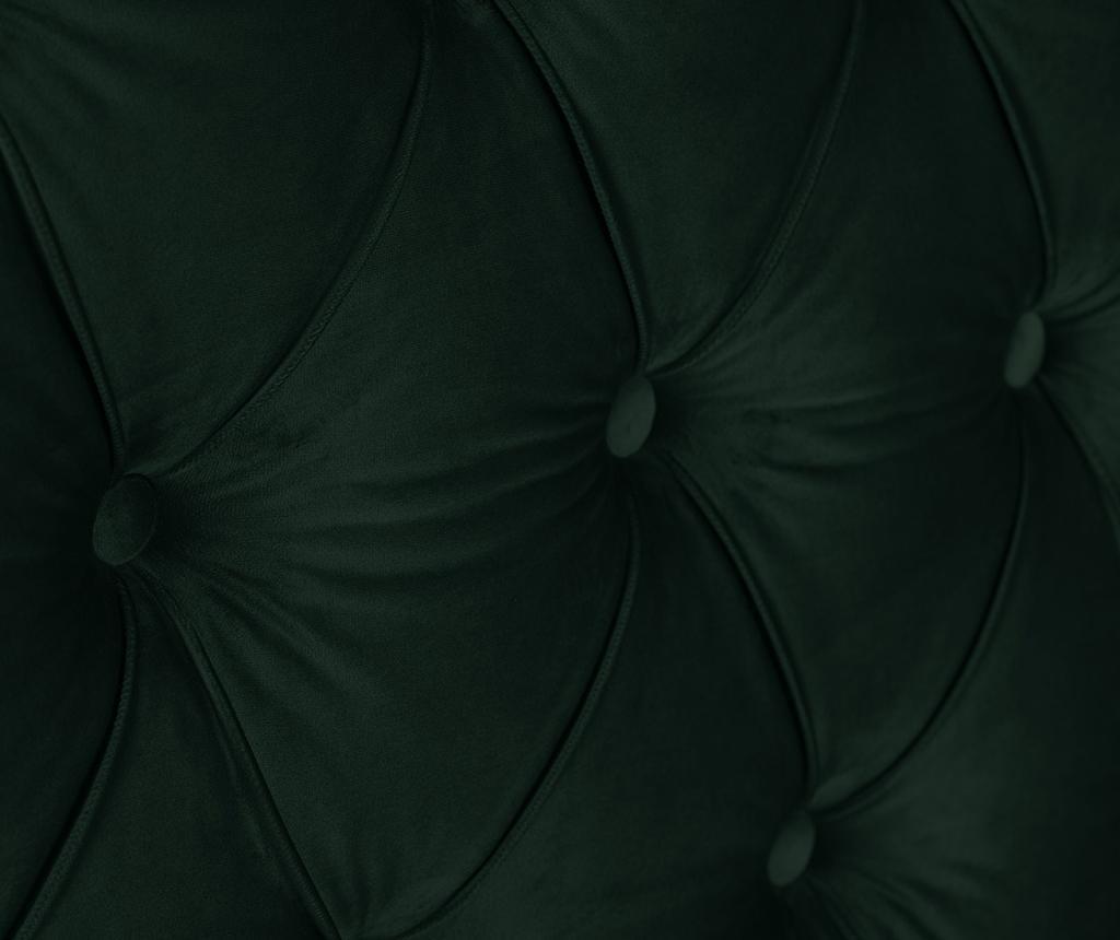 Tablie de pat Daisy Bottle Green 180 cm