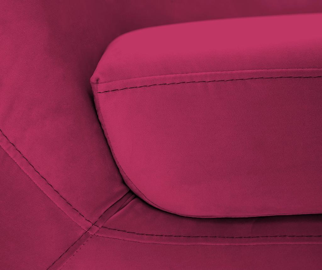 Amelie Pink Black Kétszemélyes kanapé