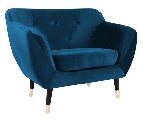 Fotel Amelie Blue Black