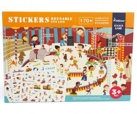 Zabawka edukacyjna Static City