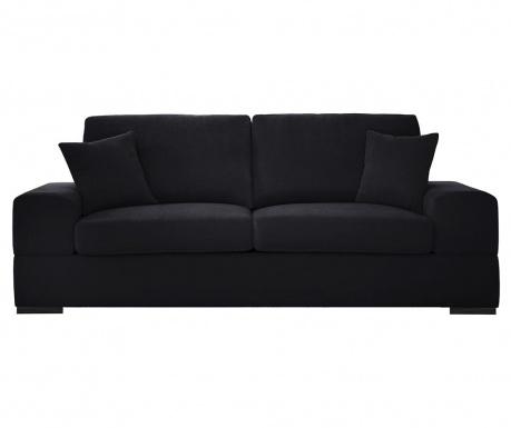 Rozkładana kanapa trzyosobowa Dasha Black