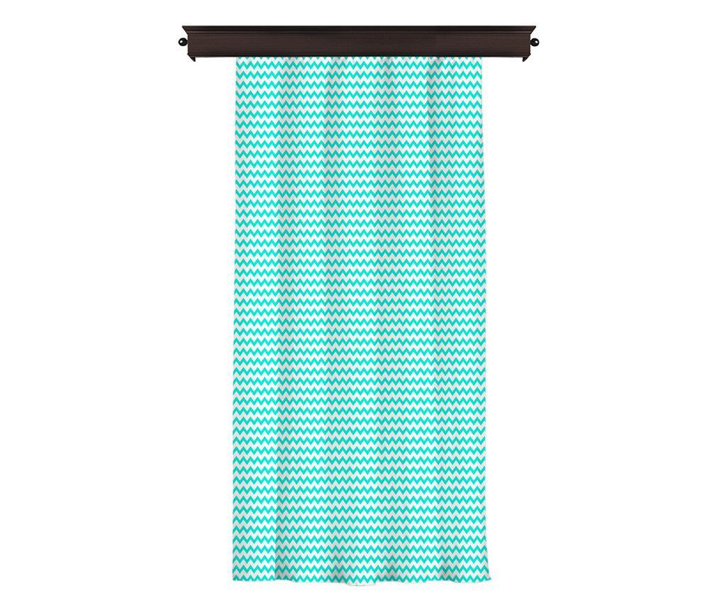 Draperie 140x260 cm - Cipcici, Albastru,Multicolor