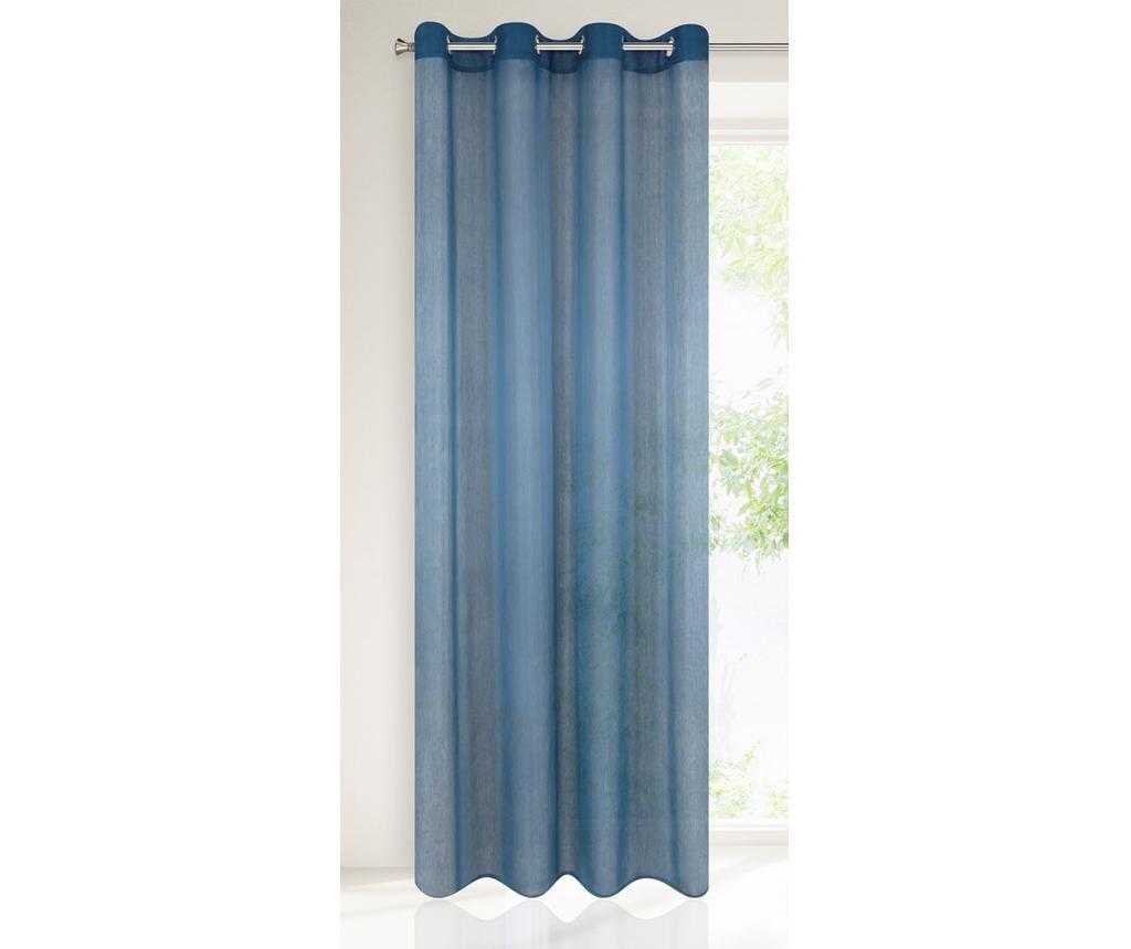 Perdea Rebecca Dark Blue 140x250 cm - Eurofirany, Albastru