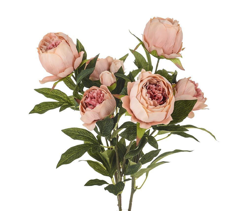 Buchet flori artificiale Peonies Pink Grande - Dino Bianchi, Roz