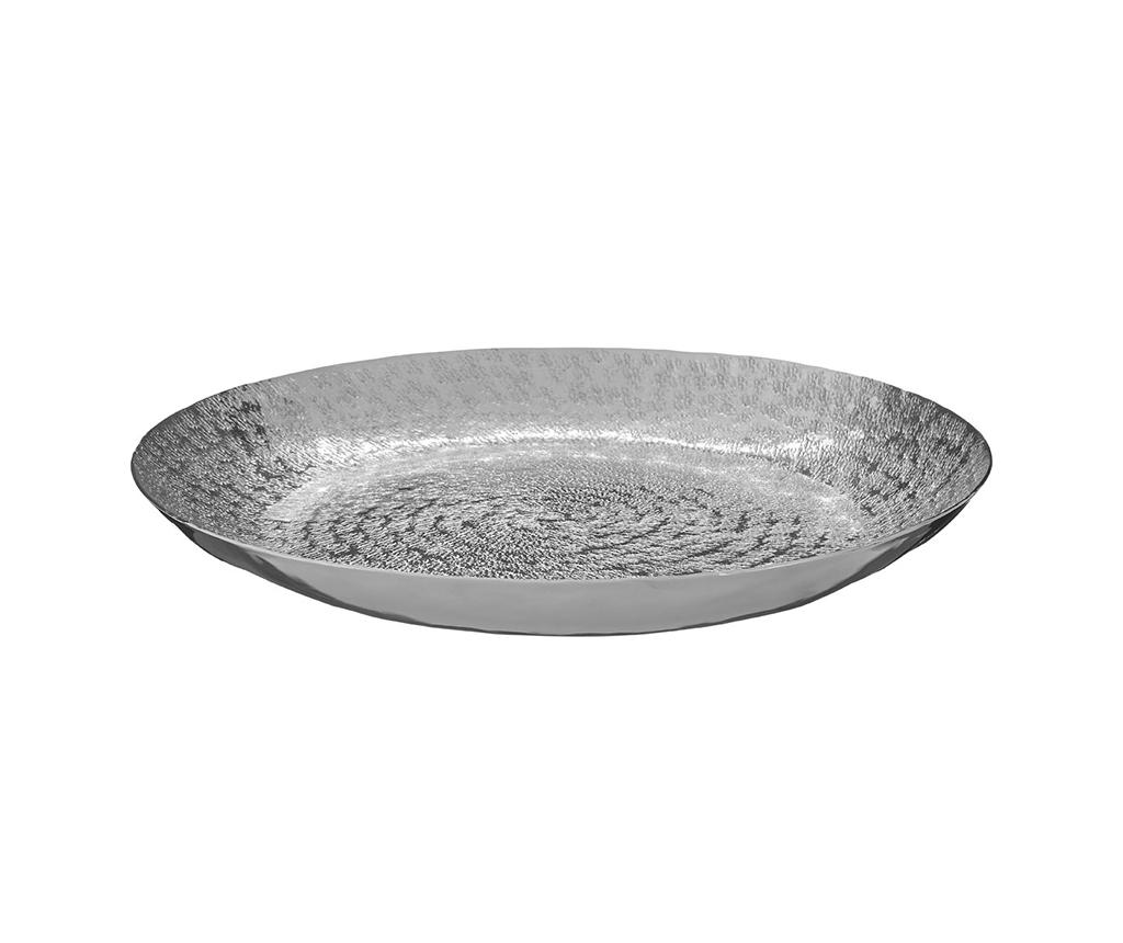 Platou decorativ Safia - Premier, Gri & Argintiu