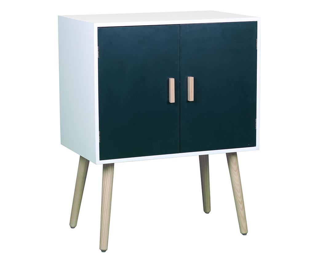 Dulapior Petra Doors - SIT Möbel, Alb,Albastru