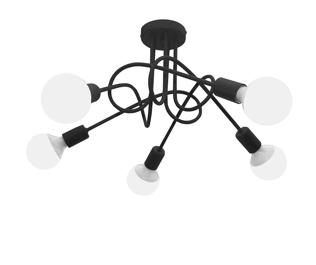 Lustra Oxford Five Black - Helam, Negru imagine 2021