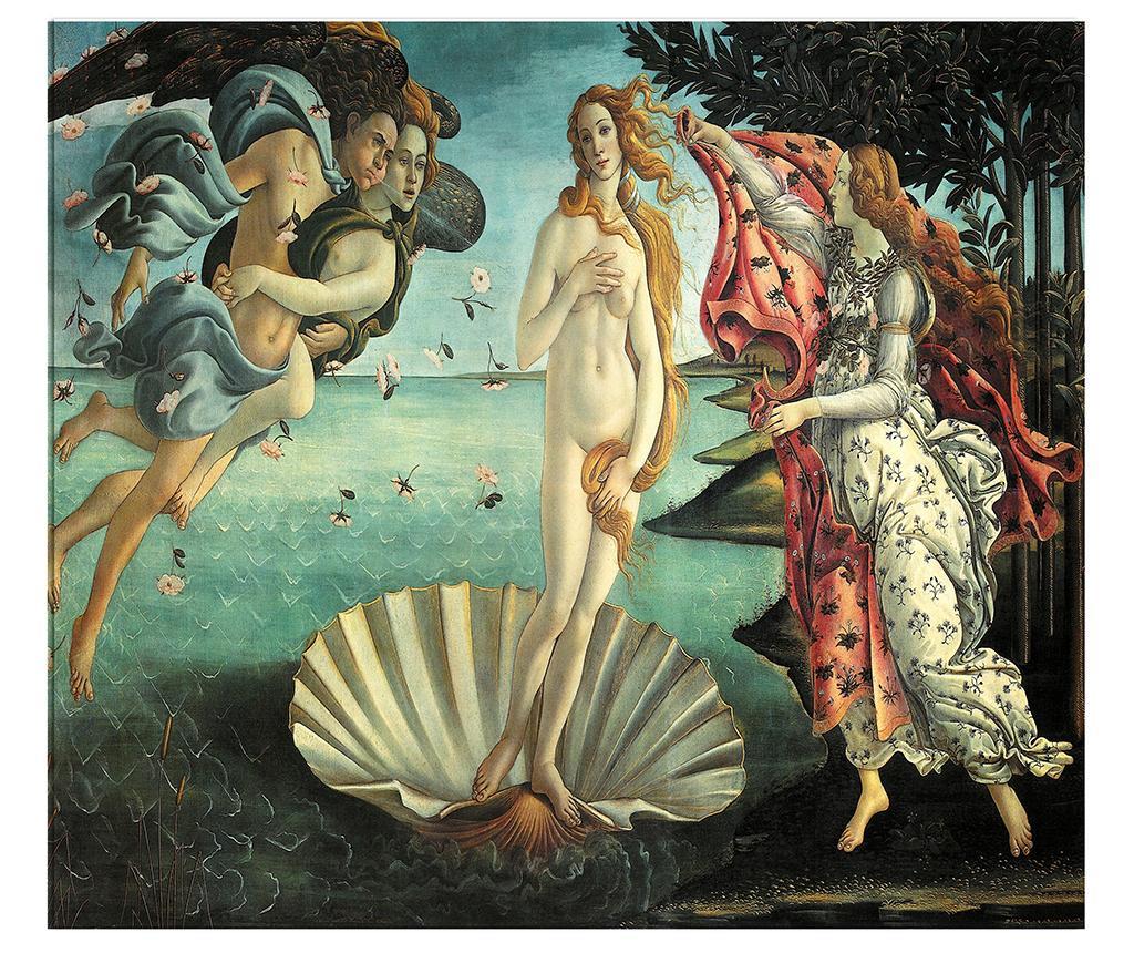 Tablou Botticelli Birth Of Venus 120x140 Cm - Polo Ovest, Multicolor