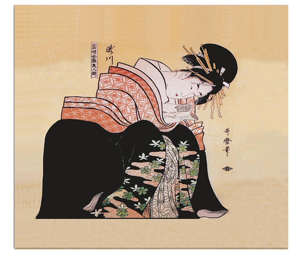 Tablou Love Letter 85x100 Cm - Polo Ovest, Multicolor