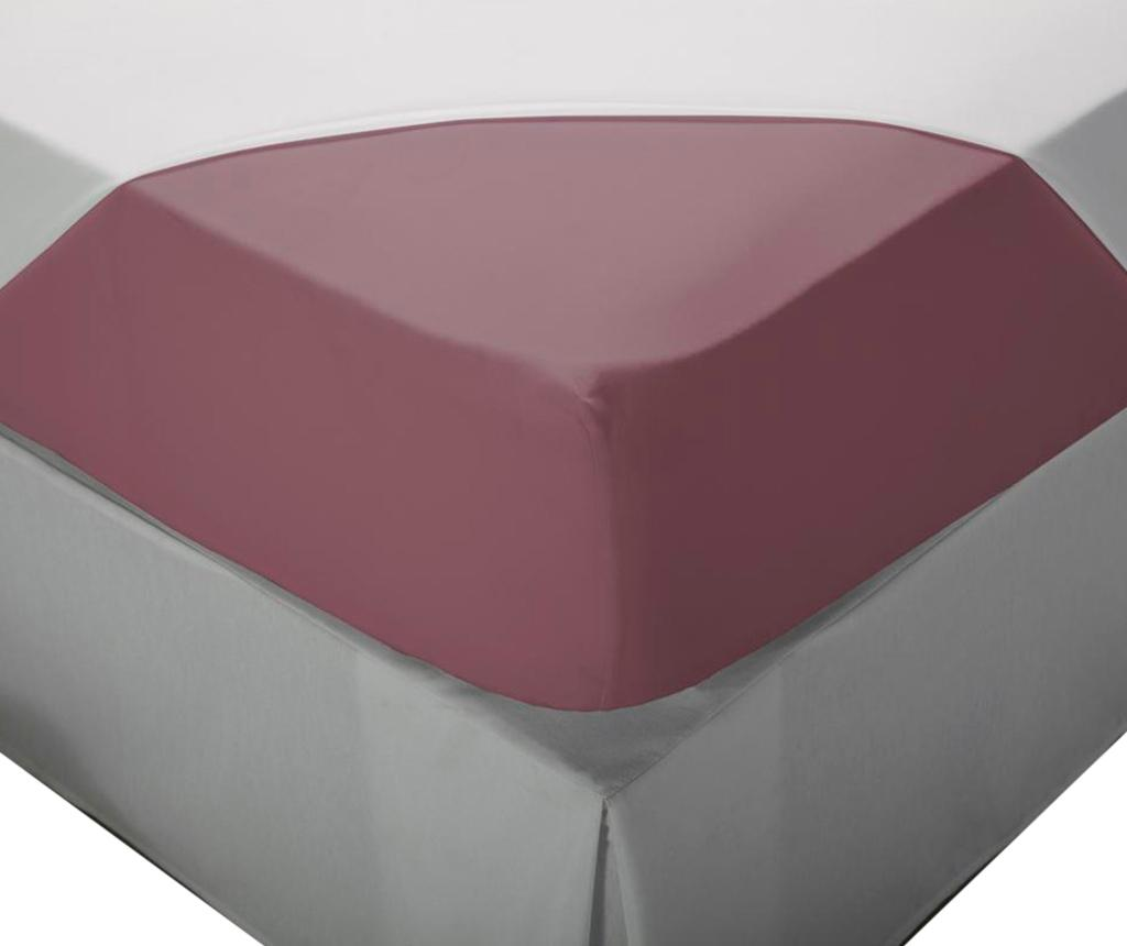 Cearsaf de pat cu elastic Laraline Purple 90x200 cm - Pikolin, Mov
