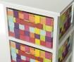 Shranjevalna enota s 4 košarami Stars Multicolour
