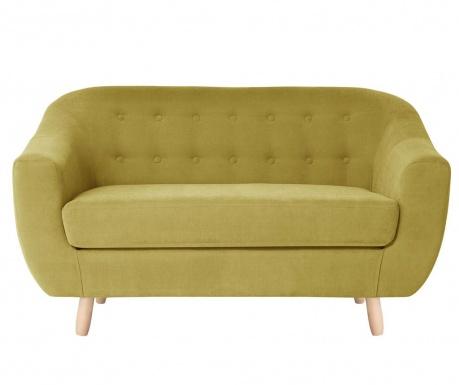 Canapea 2 locuri Vicky Yellow