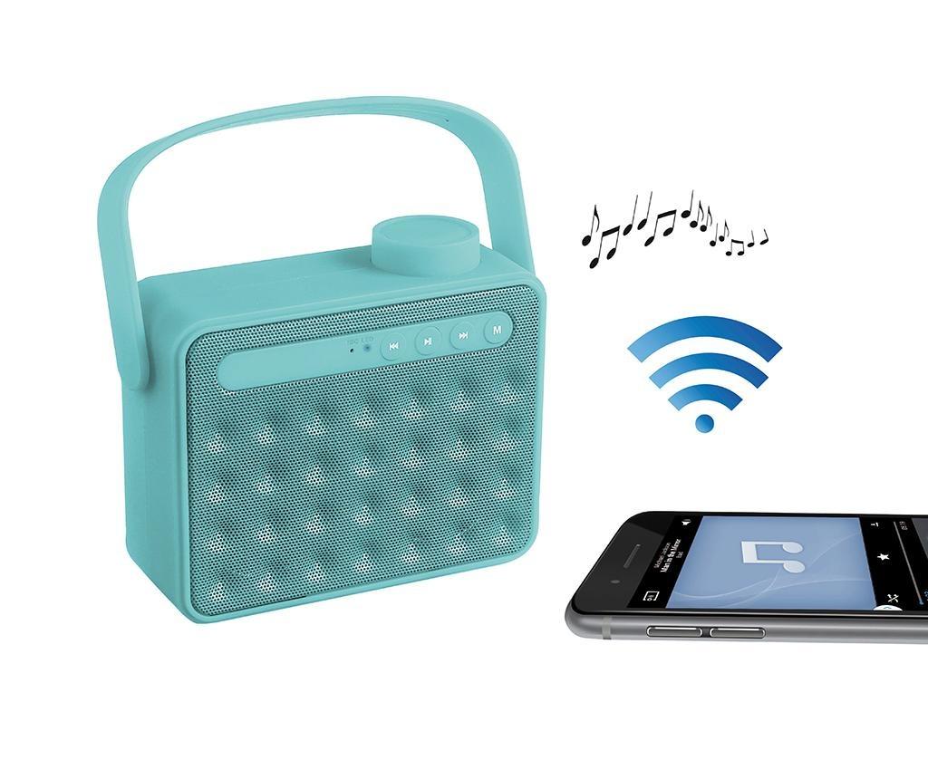 Retro Blue Hordozható hangszóró Bluetooth-tal