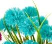 Umělá rostlina v květináči Crysanthenum  Blue