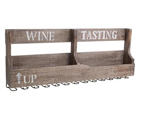 Wieszak na butelki i kieliszki Wine Tasting