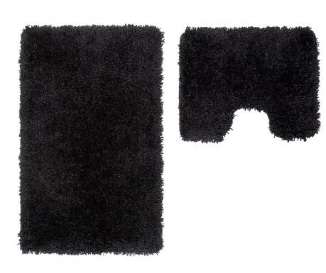 Zestaw 2 dywaników łazienkowych My Cosmopolitan Black