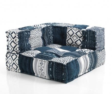 Jastuk za sjedenje Yantra White Blue