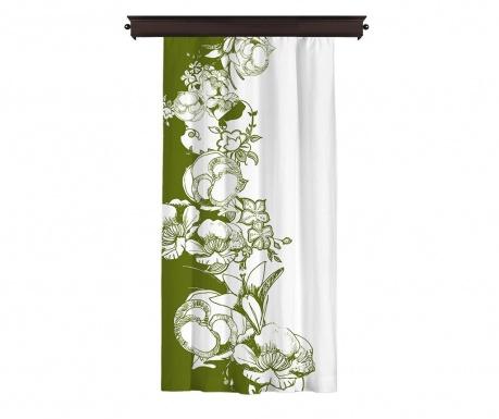 Efflorescence Green Sötétítő 140x260 cm